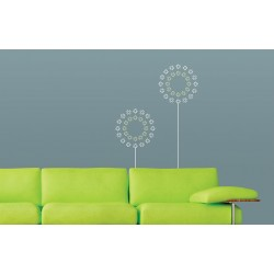 Sun Spray - Asian Paints Wall Fashion Stencil