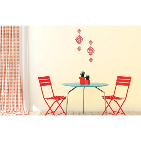 Oyster asian paints wall fashion stencil buy online for Wall paint buy online