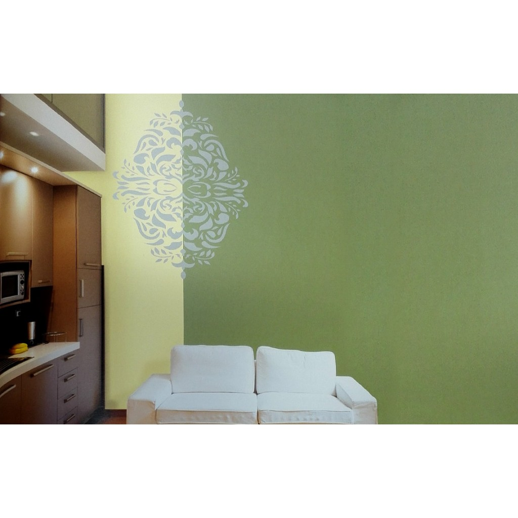 Monarchy asian paints wall fashion stencil buy online for Wall paint buy online