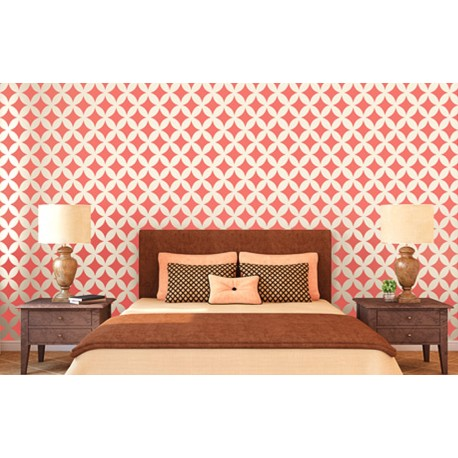 Diamante Dust - Asian Paints Wall Fashion Stencil
