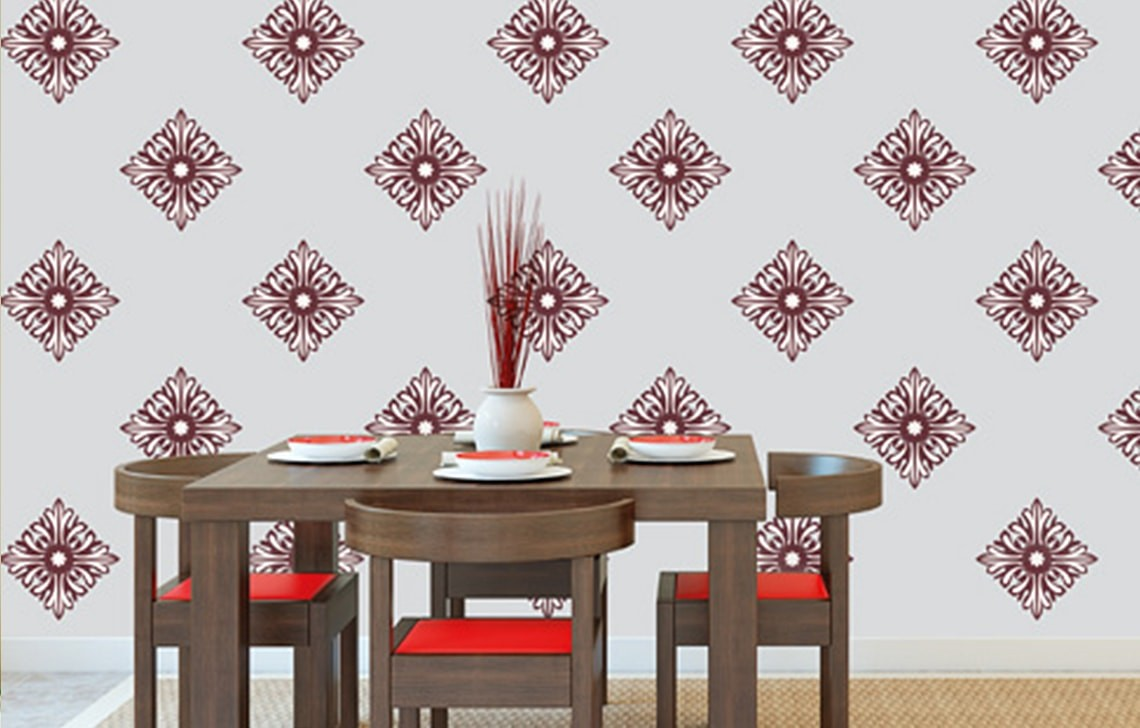 North star asian paints wall fashion stencil buy online amipublicfo Choice Image