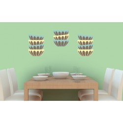 Potluck - Asian Paints Wall Fashion Stencil