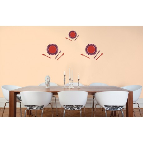 Bon Appetite - Asian Paints Wall Fashion Stencil