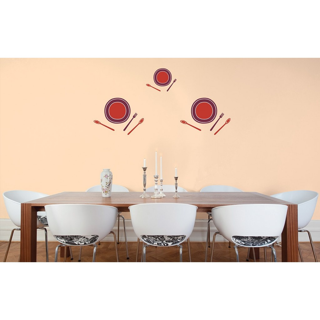 Bon appetite asian paints wall fashion stencil buy online for Wall paint buy online