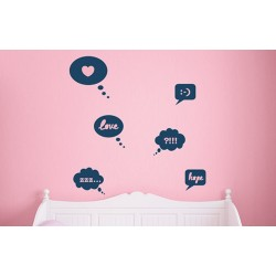 Emoticons - Asian Paints Wall Fashion Stencil