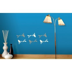 Aqua - Asian Paints Wall Fashion Stencil