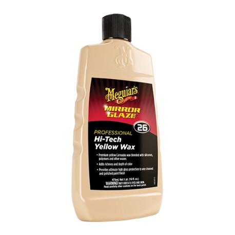 Meguiars Mirror Glaze Hi-Tech Yellow Wax - 473ml