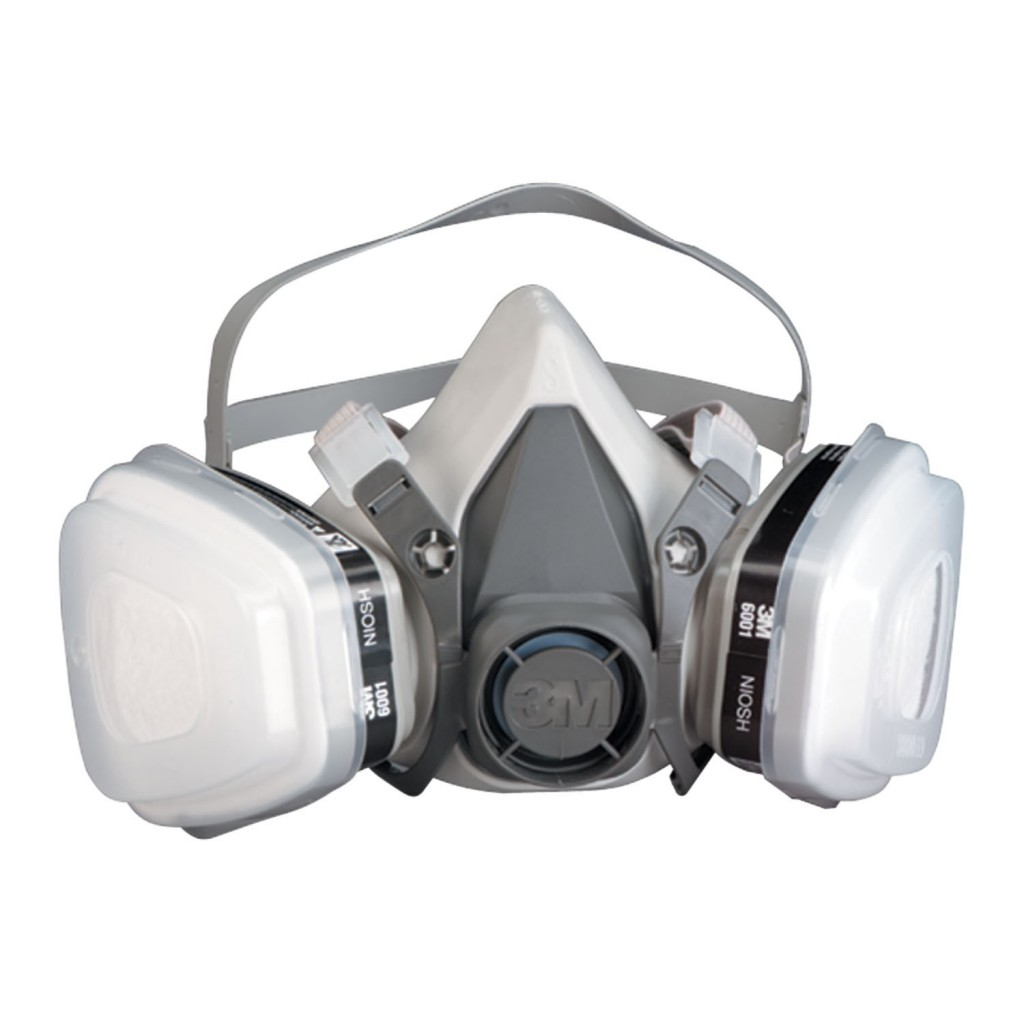 3m respirator half face respirator mask for spray painting
