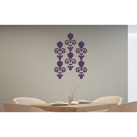 Chandelier - Asian Paints Wall Fashion Stencil