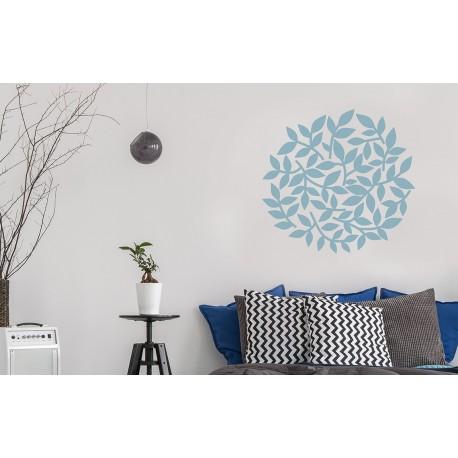 Bush - Asian Paints Wall Fashion Stencil