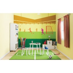 Flying Kick - Kids World Stencil Kit