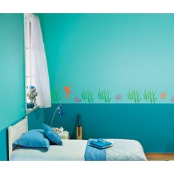 Deep Sea Fantasy - Kids World Stencil Kit