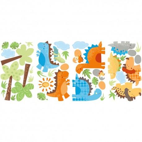 Nilaya Decal Wall Sticker - Babysaurus Collection