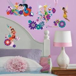 Nilaya Decal Wall Sticker - Best Fairy Friends
