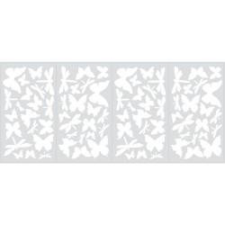 Nilaya Decal Wall Sticker - Butterflies & Dragonflies Glow in the Dark