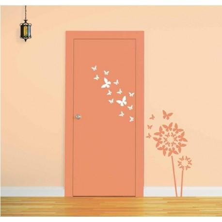 DIY Decorate your Doors with Butterflies