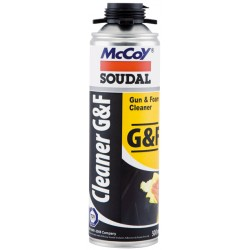McCoy Soudal PU Foam Gun & Foam Cleaner 500ml