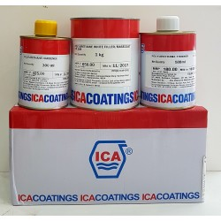 ICA PU 3-Part White Filler 1.8Ltr