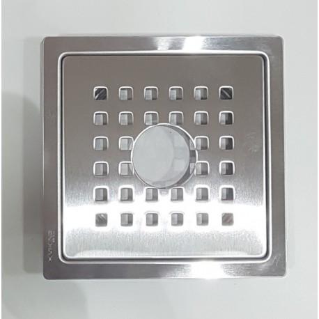 "Viking Drain Square 5""x5"" SS304 Pipe Cut Square Holes"