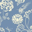 Nilaya Good Earth Wallpaper - Peony Garden