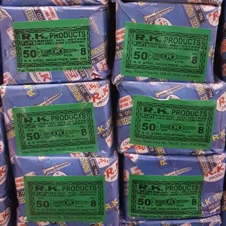 "RK Wood Screws 2"" (50x8) Pack of 300Pcs"