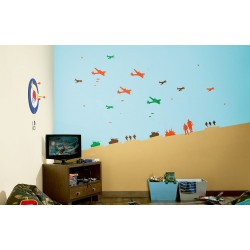 Battle in the Sky - Kids World Stencil Kit