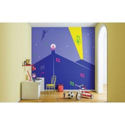 Mighty Heroes - Kids World Stencil Kit
