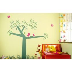 Bird Time Stories - Kids World Stencil Kit