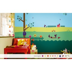 Backyard Story - Kids World Stencil Kit