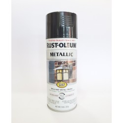 Rust-Oleum Stops Rust Protective Enamel - Metallic Black Night 340g