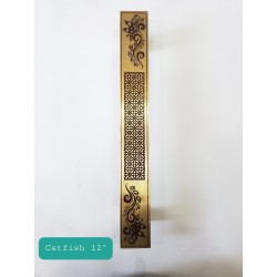 """Catfish 12"""" - Main Door Handle - Antique Finish"""