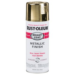 Rust-Oleum Stops Rust Protective Enamel - Metallic Bright Coat Gold 312g
