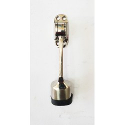 "Door Stopper Brass - Bullet 6"" SS Finish"