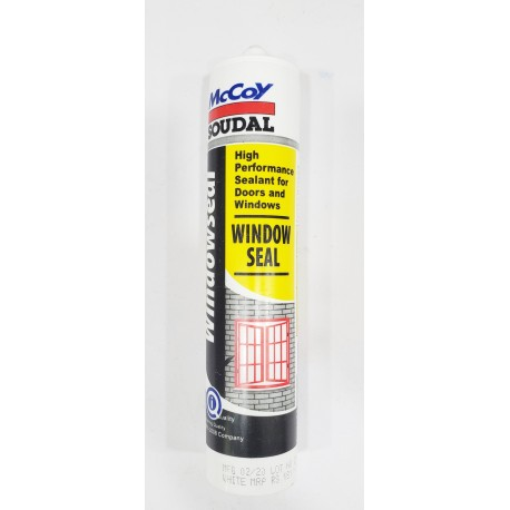McCoy Soudal Window Seal White Sealant 270ml