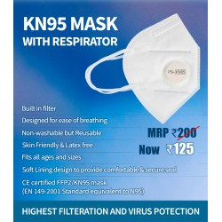 KN95 Mask with Respirator