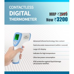 Infra-Red Digital Thermometer - Contactless