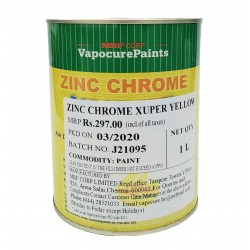 MRF Xuper Zinc Chrome Yellow Metal Primer 1L