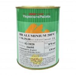 MRF 200°C Heat Resistant Aluminium Paint 4L