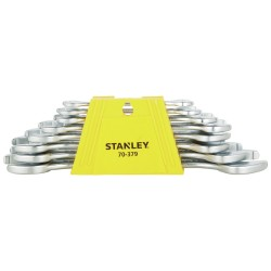 Stanley Spanner Set 8pc (70-379) Double Open End