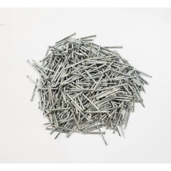 "Common Nails Galvanized 3/4""x19G Headless 1Box (2.5Kg)"