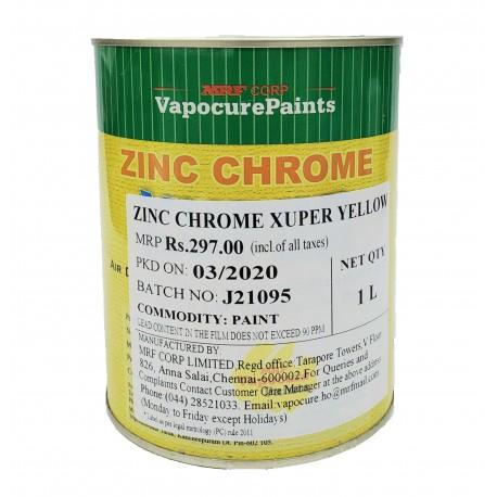MRF Xuper Zinc Chrome Yellow Metal Primer 1L