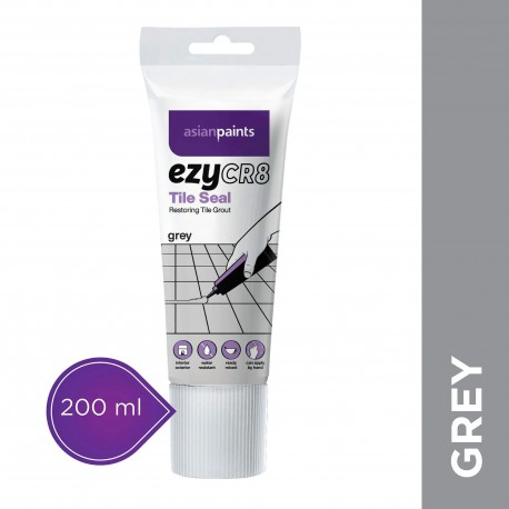 ezyCR8 Tile Seal - Grey - 200ml