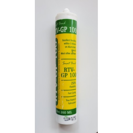 Smart Bond GP100 Clear Silicon Sealant 260ml