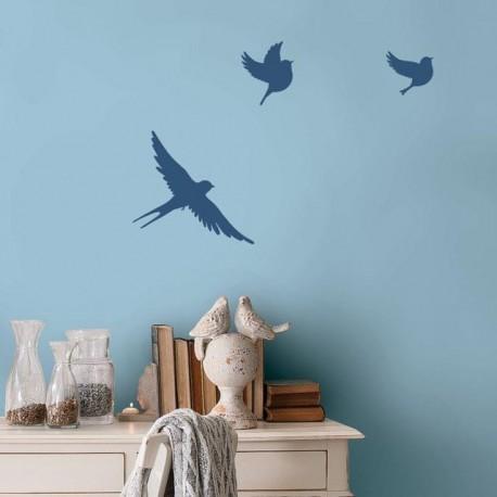 Birdie - Berger iPaint DIY Wall Stencil Kit