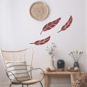 Feather - Berger iPaint DIY Wall Stencil Kit