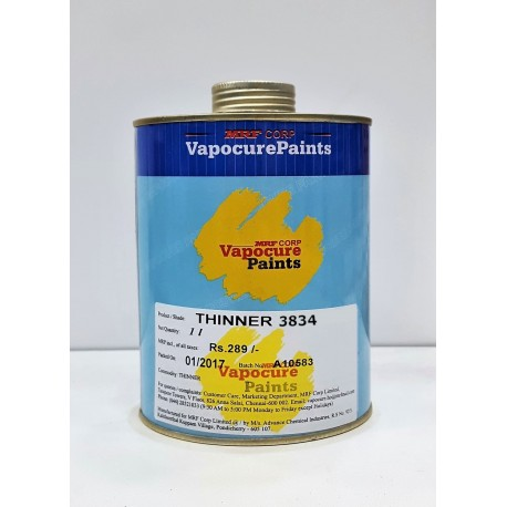 MRF Thinner 3834 for EezeeWood 1Ltr