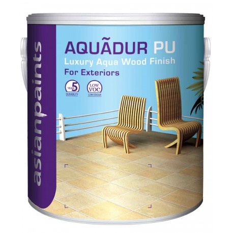 Asian Paints Aquadur Base Coat/Sealer Clear 4L