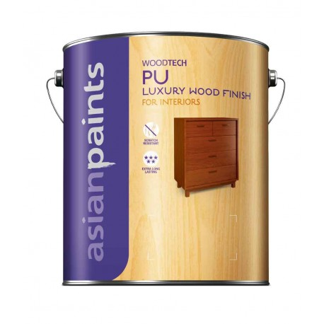Asian Paints PU Interior Matt Clear 1L