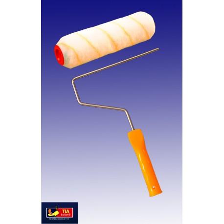 "Tia Mercury Yellow Stripe Roller 9"""