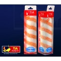 "Tia Triple Stripe Polyamide Roller 9"" with Handle"